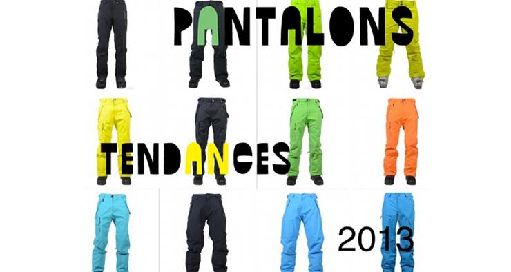 Tendance des pantalons de ski 2013 : Slim ou Baggy ?