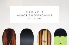 Arbor : les boards 2014 !