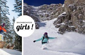 Snowboard girls : profitez des soldes !