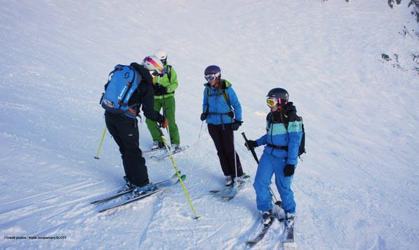 Ski de Rando : les femmes aussi !