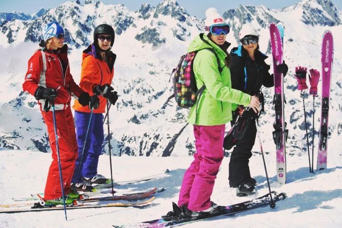 chamonix ski printemps