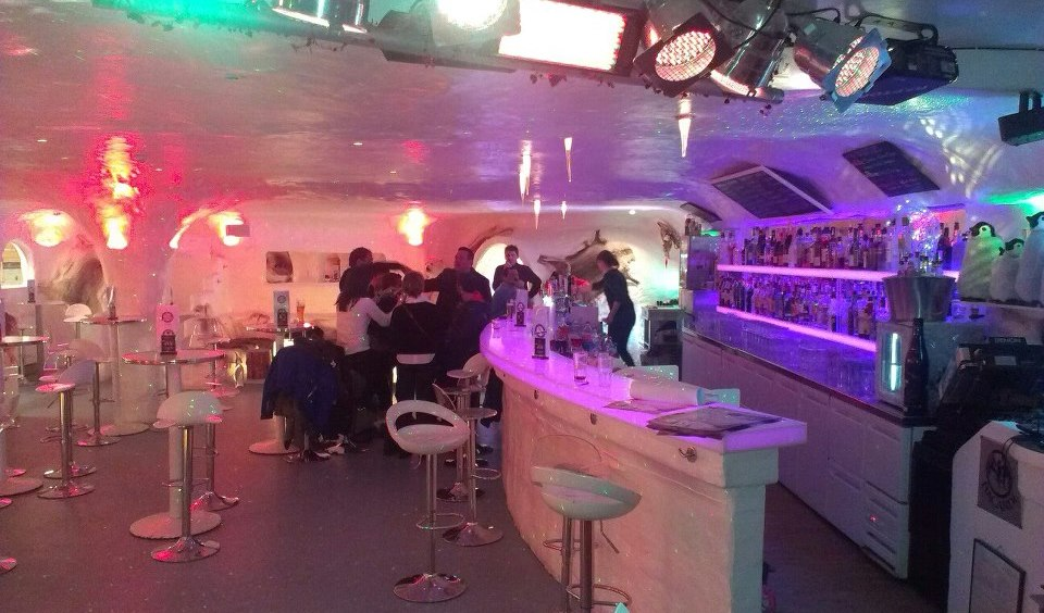 igloo bar la plagne