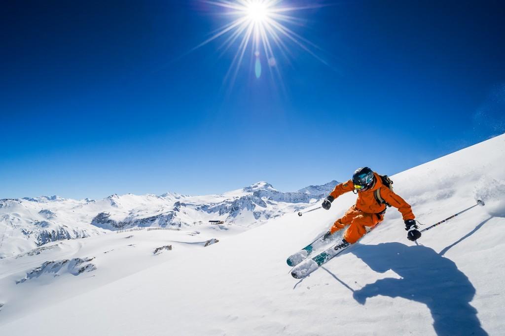 tignes ski printemps