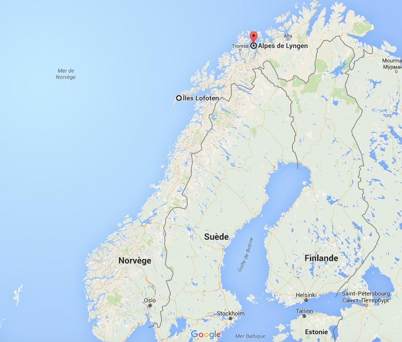 lofoten lyngen norvège