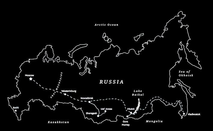 sibérie trip ski