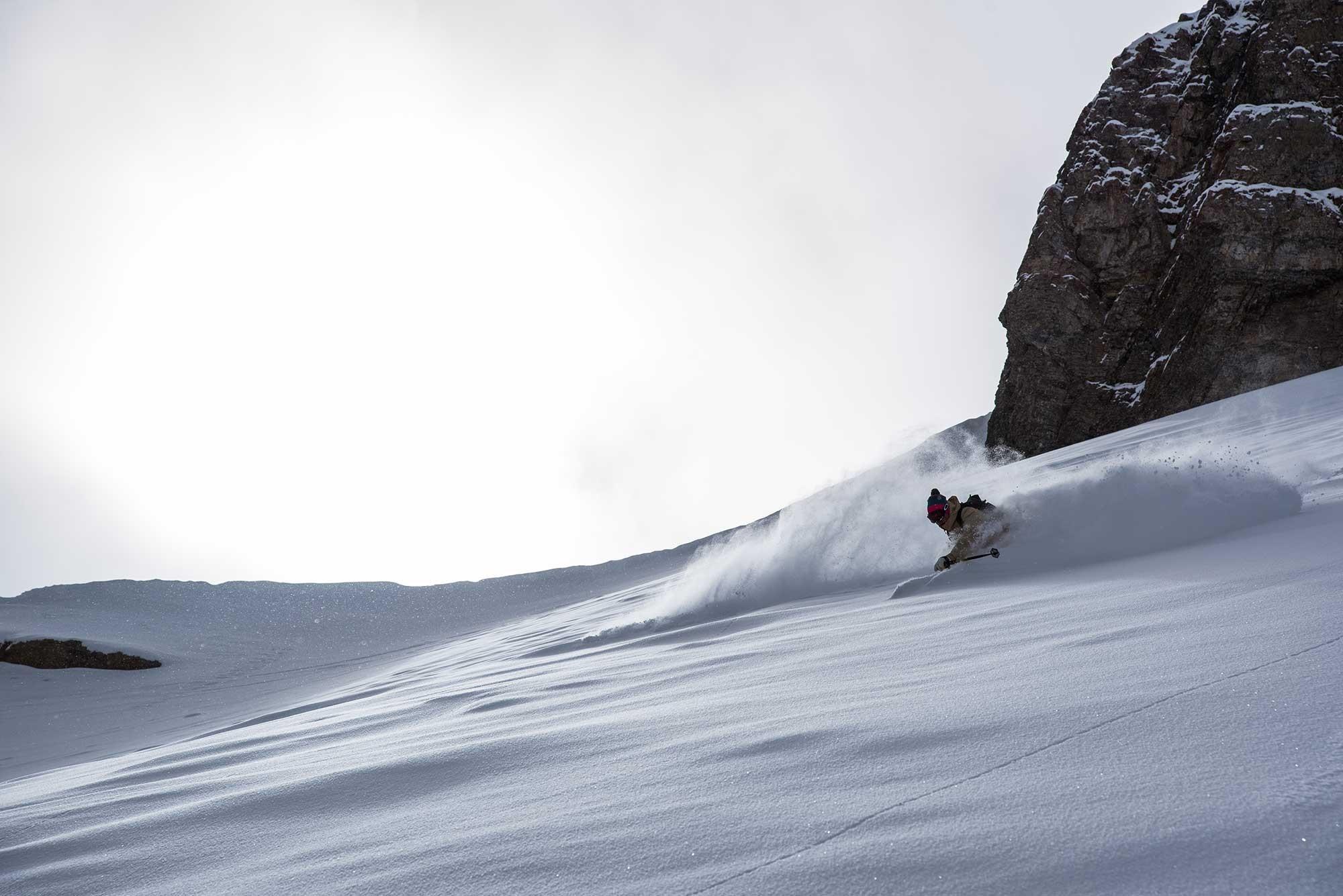 blackcrows descente en ski de rando