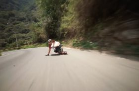 Longboard : Sessions downhill de folie en Colombie