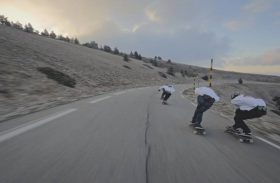 Grosses sessions longboard en Provence !