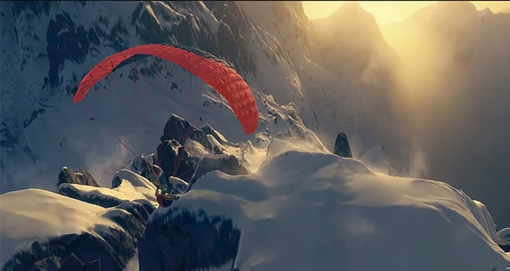 Steep, le jeu de sports de montagne