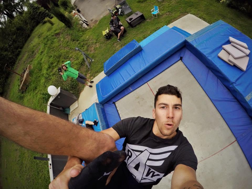trampoline ski
