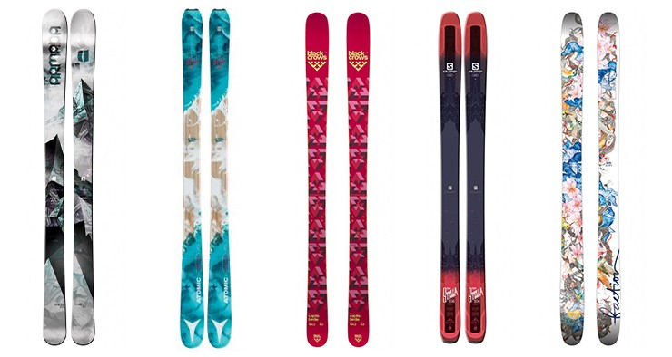 5 nouveaux skis femme incontournables en 2017