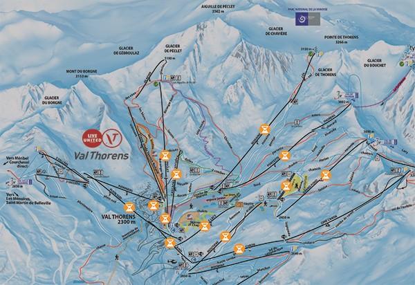 Courchevel, l'Alpe d'Huez, Val Thorens : Ouvertures anticipées des stations
