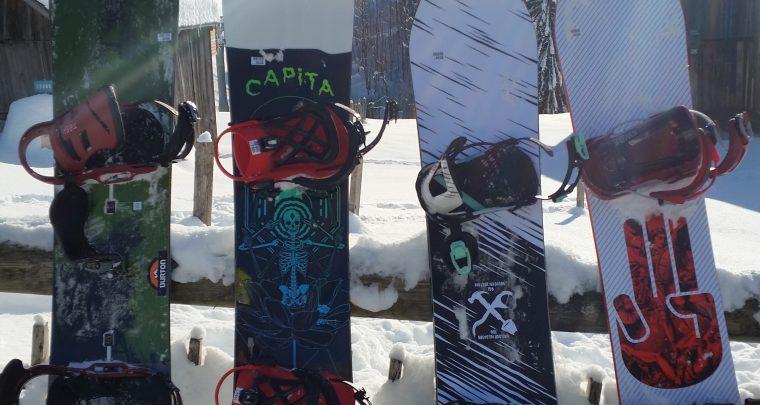 Test Snowboard 2018 au Snow Avant Première de La Clusaz