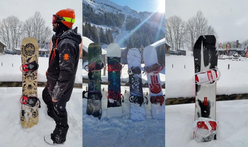 Test snowboard 2018