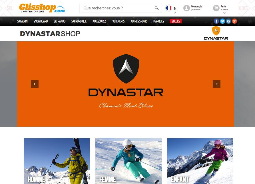 Dynastar et son shop en ligne n'attendent que vous!