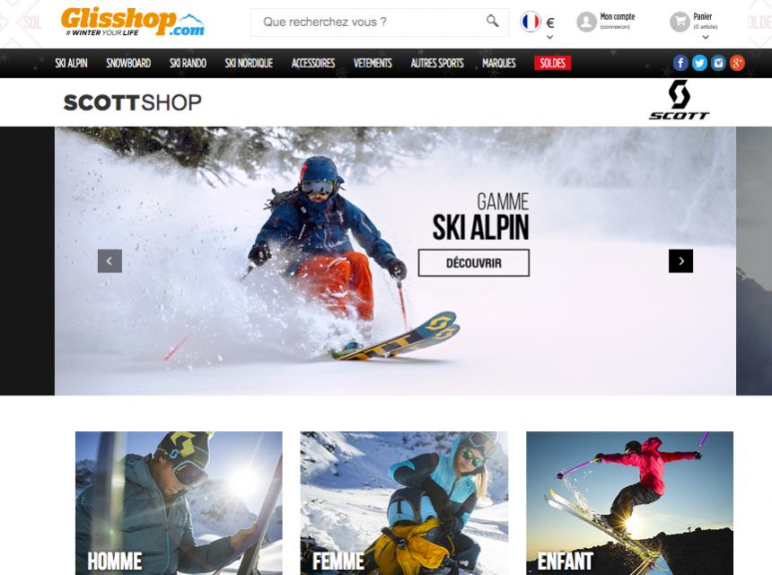 Notre shop Scott est en ligne !
