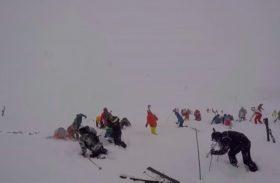 Vidéo avalanche de Tignes du 7 mars 2017