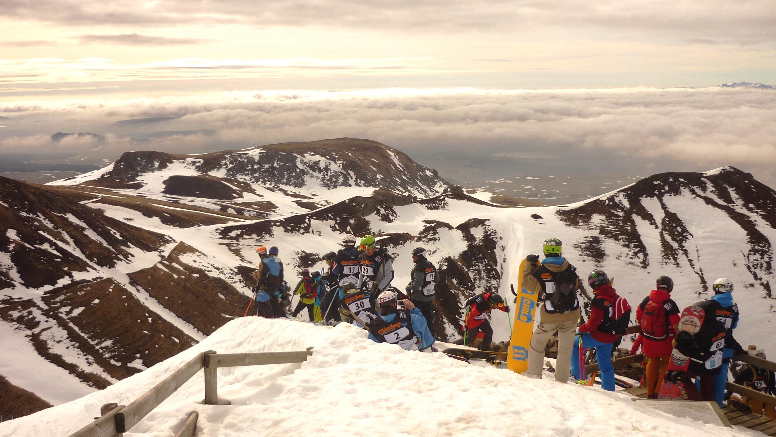 Lecture du terrain au sommet du Sancy - Derby du Mont Dore 2017