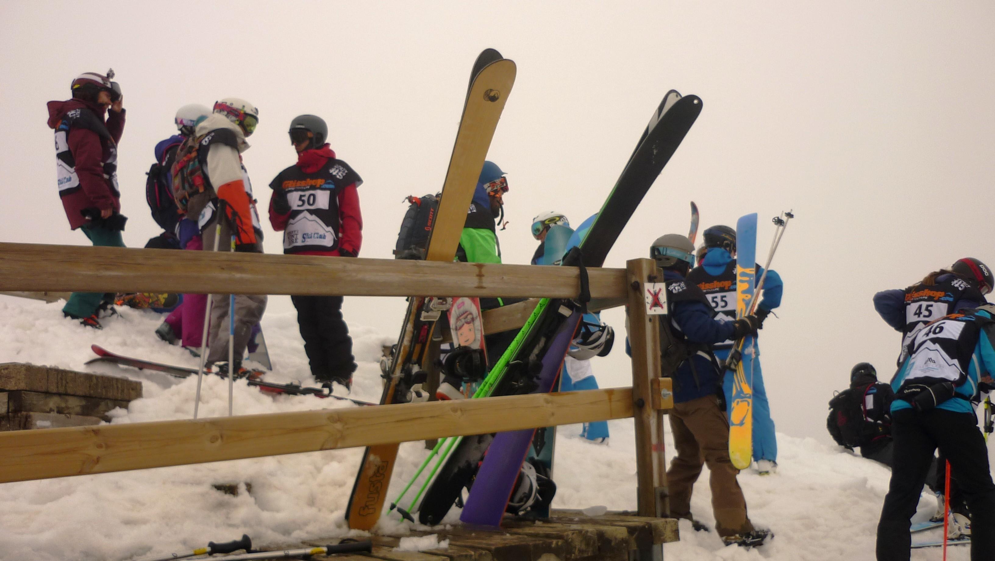 Freeriders au sommet du Sancy - Derby du Mont Dore 2017