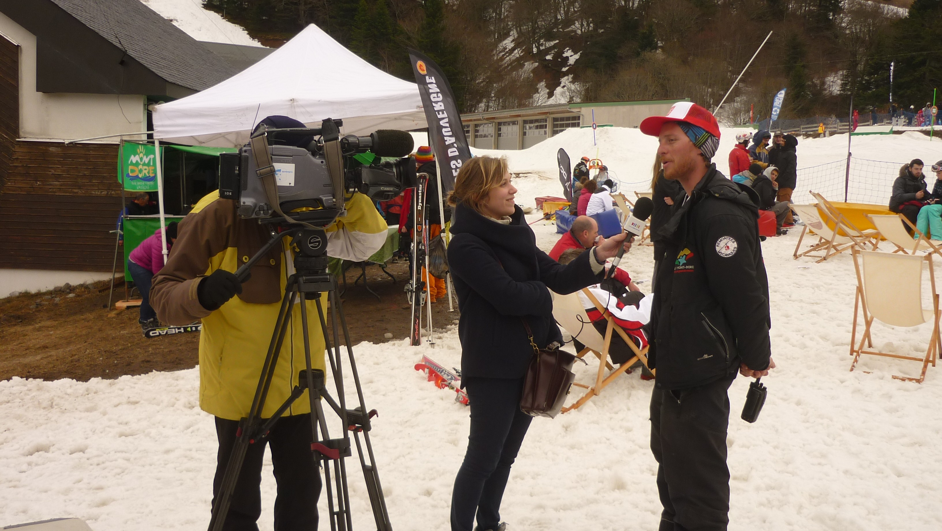 Interview Keuj par France 3 Auvergne - Derby du Mont Dore