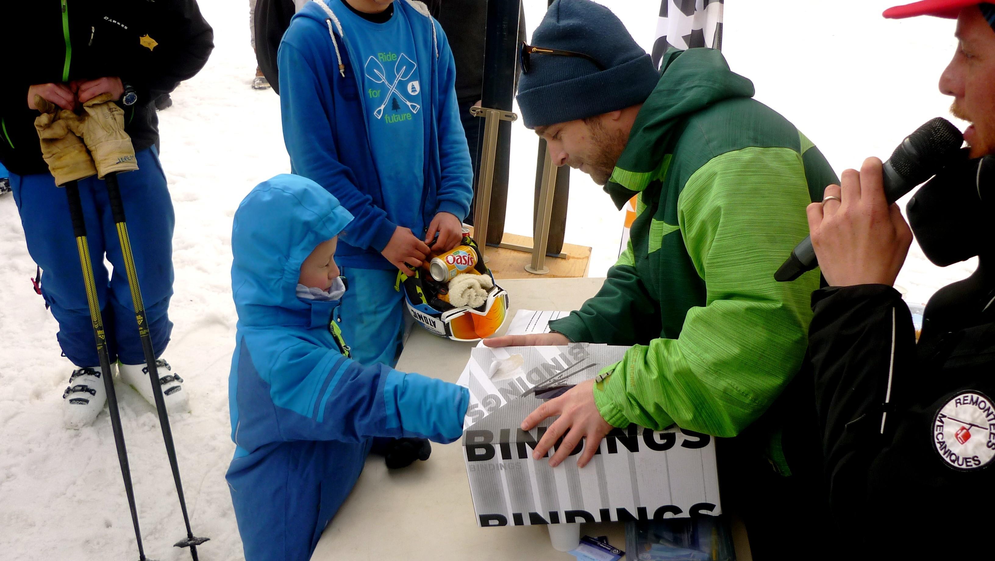 Tirage au sort gagnant ski Dynastar CHAM 97 - Derby du Mont Dore 2017