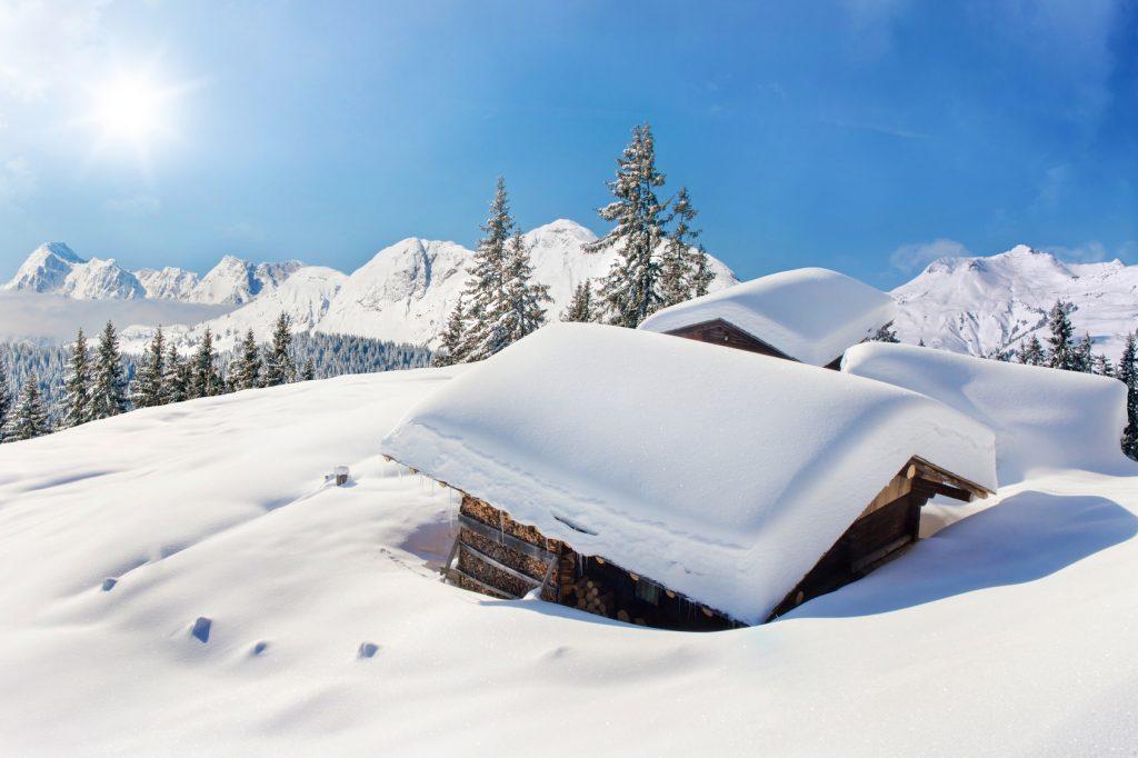 Chalet sport d'hiver