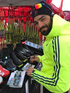 Simon Fourcade Ski de fond aux Saisies 2017