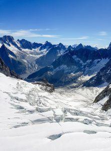 Vallée Blanche en été - Mont Blanc
