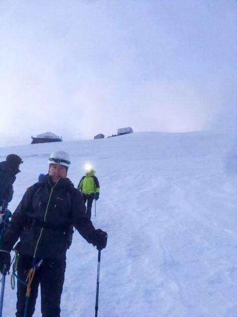 Changement météo ascension Mont Blanc