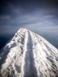 Arrête sommitale Mont Blanc