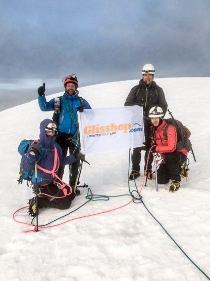 Glisshop en haut du Mont Blanc