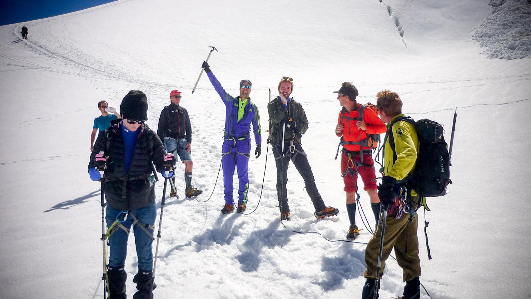 Groupe encordé Vallée Blanche Glisshop - Volkl - Marker - Dalbello