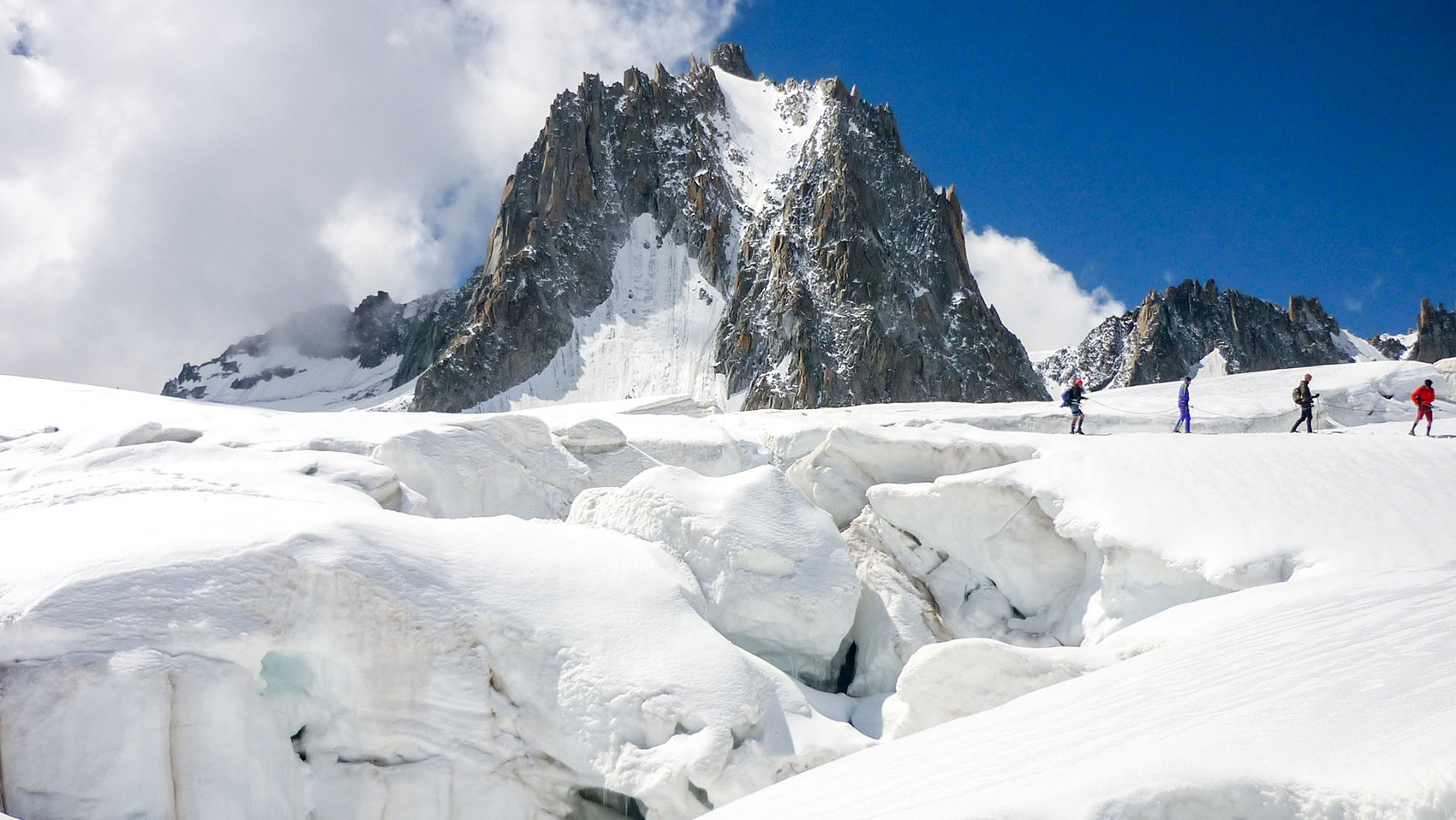 Crevasse Vallée Blanche