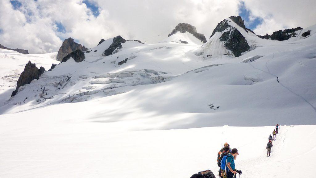 Rando glacière Vallée Blanche