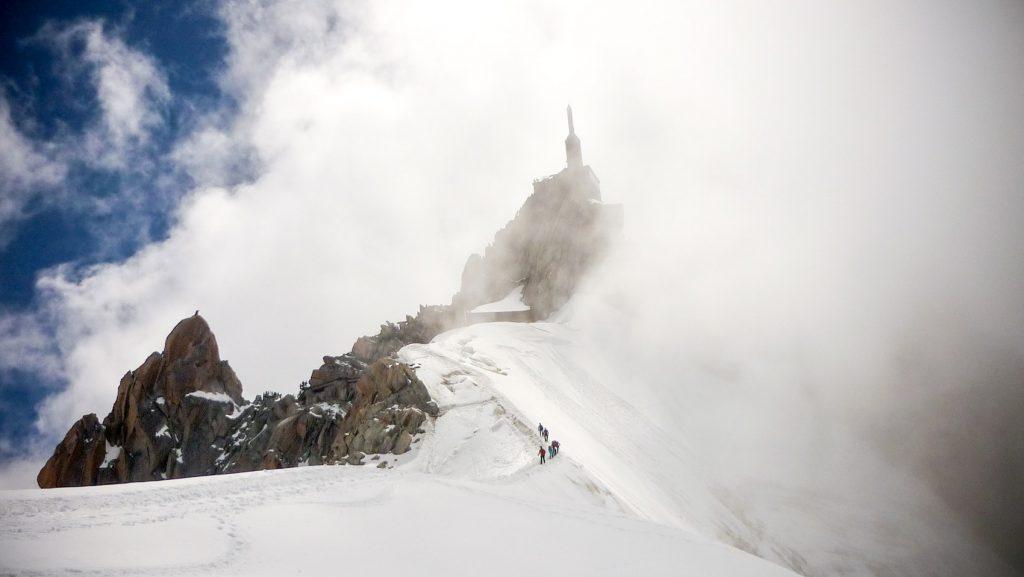 Arête Aiguille du Midi
