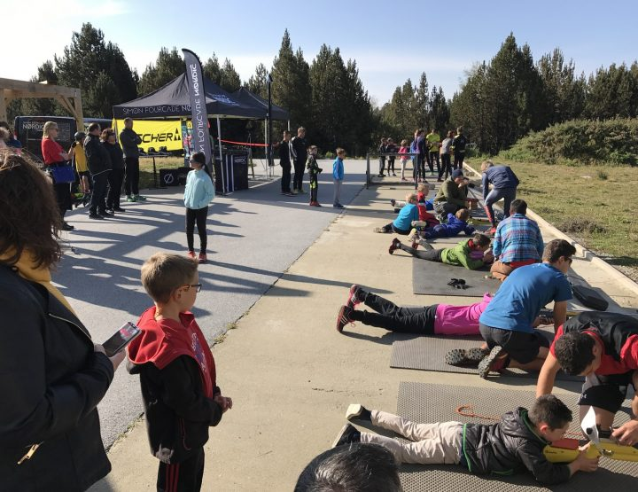 Initiation Biathlon et Ski Roue Font-Romeu avec Simon Fourcade Nordic