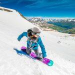 Snowboard Tignes automne 2017