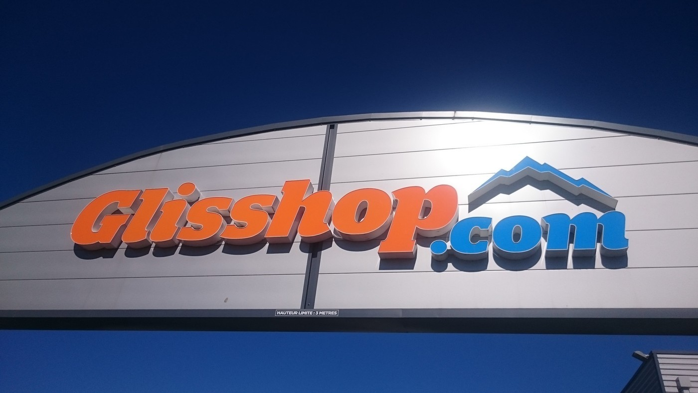 Enseigne Glisshop 2012