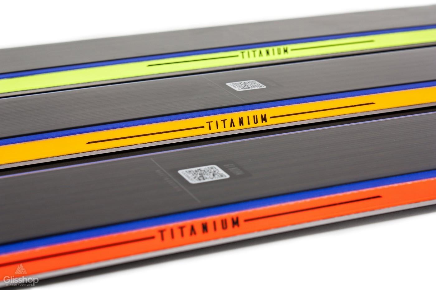 Ski XDR Salomon chant Titanium