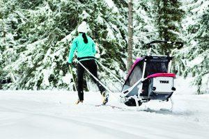 Chariot-Remorque Kit Ski THULE