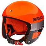 Casque ski FIS Briko Vulcano Orange