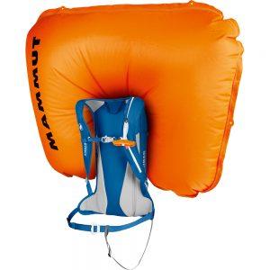 Sac airbag Mammut Ultra Light Removable Airbag 3.0 Dark Cyan Action