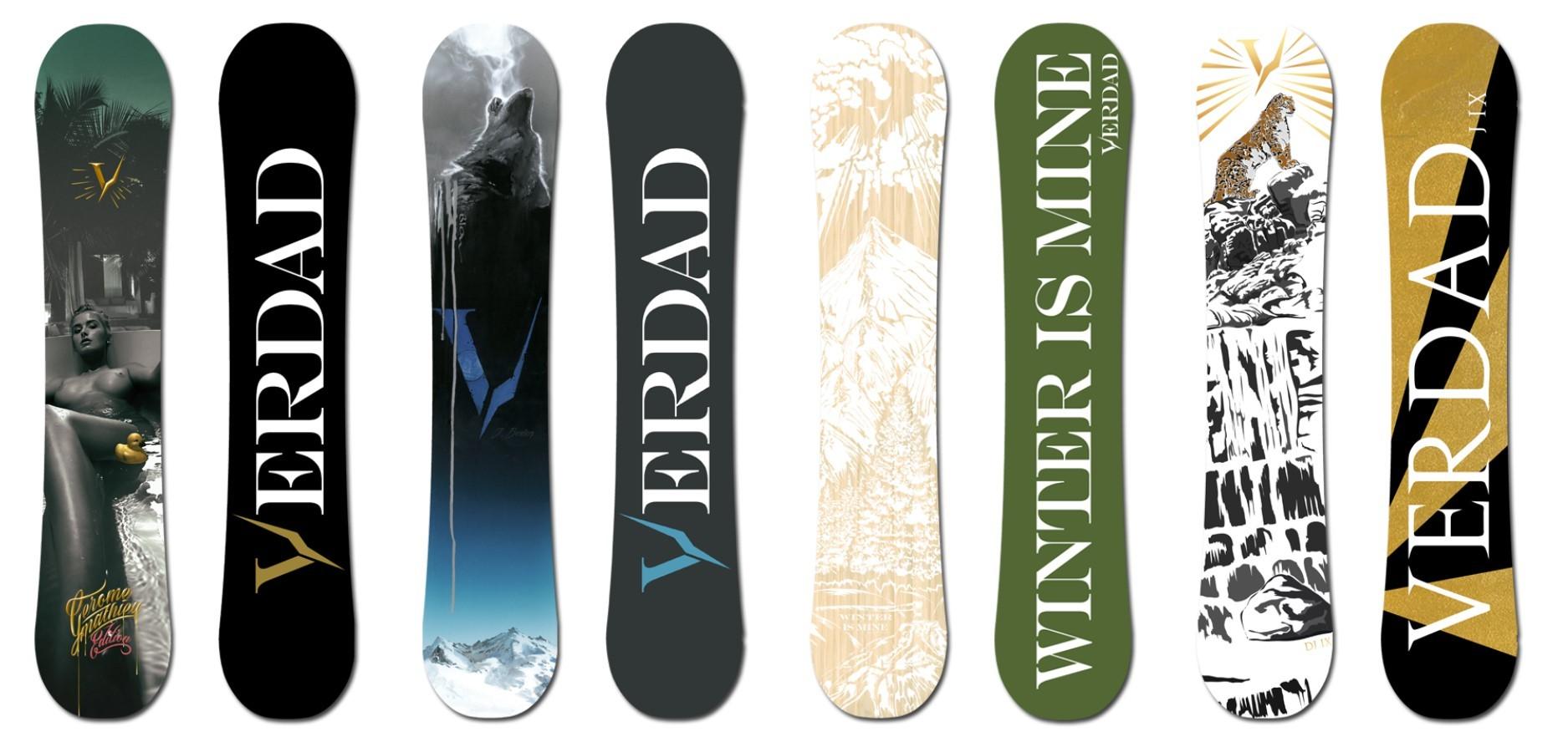 Snowboards Verdad 2018 Glisshop