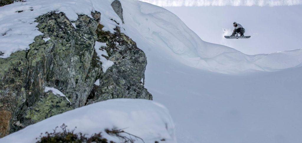 Verdad snowboard freeride