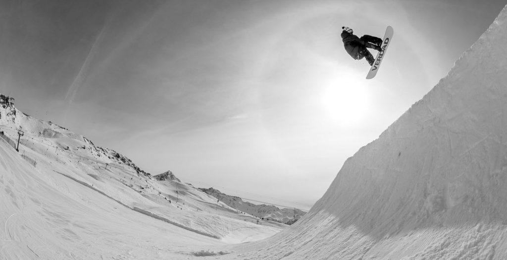 Verdad snowboard pipe