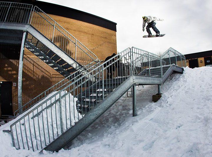 Cet hiver encore, DC va équiper les snowboarders de la tête aux pieds