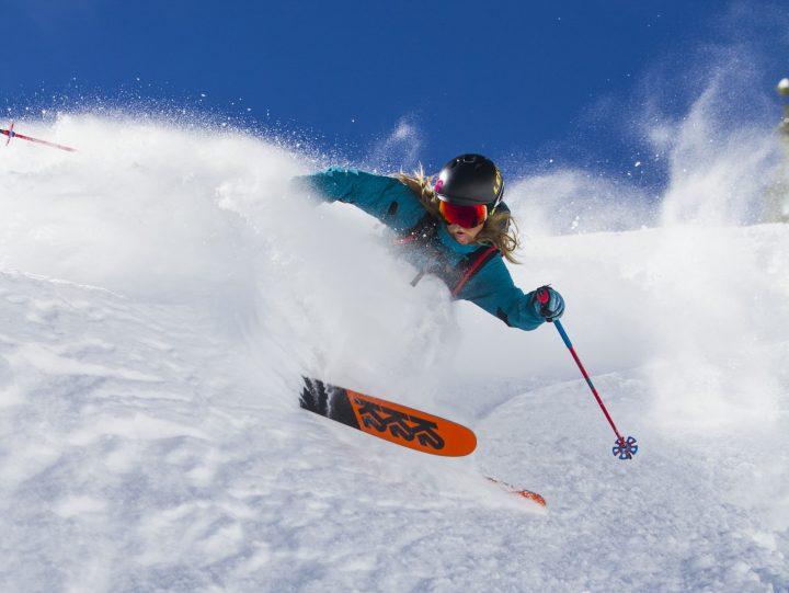 La collection Pinnacle de K2, des skis 100 % Freeride