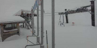 Flaine neige janvier 2018