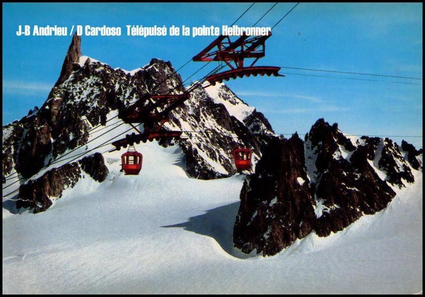 pylône suspendu panoramic mont blanc