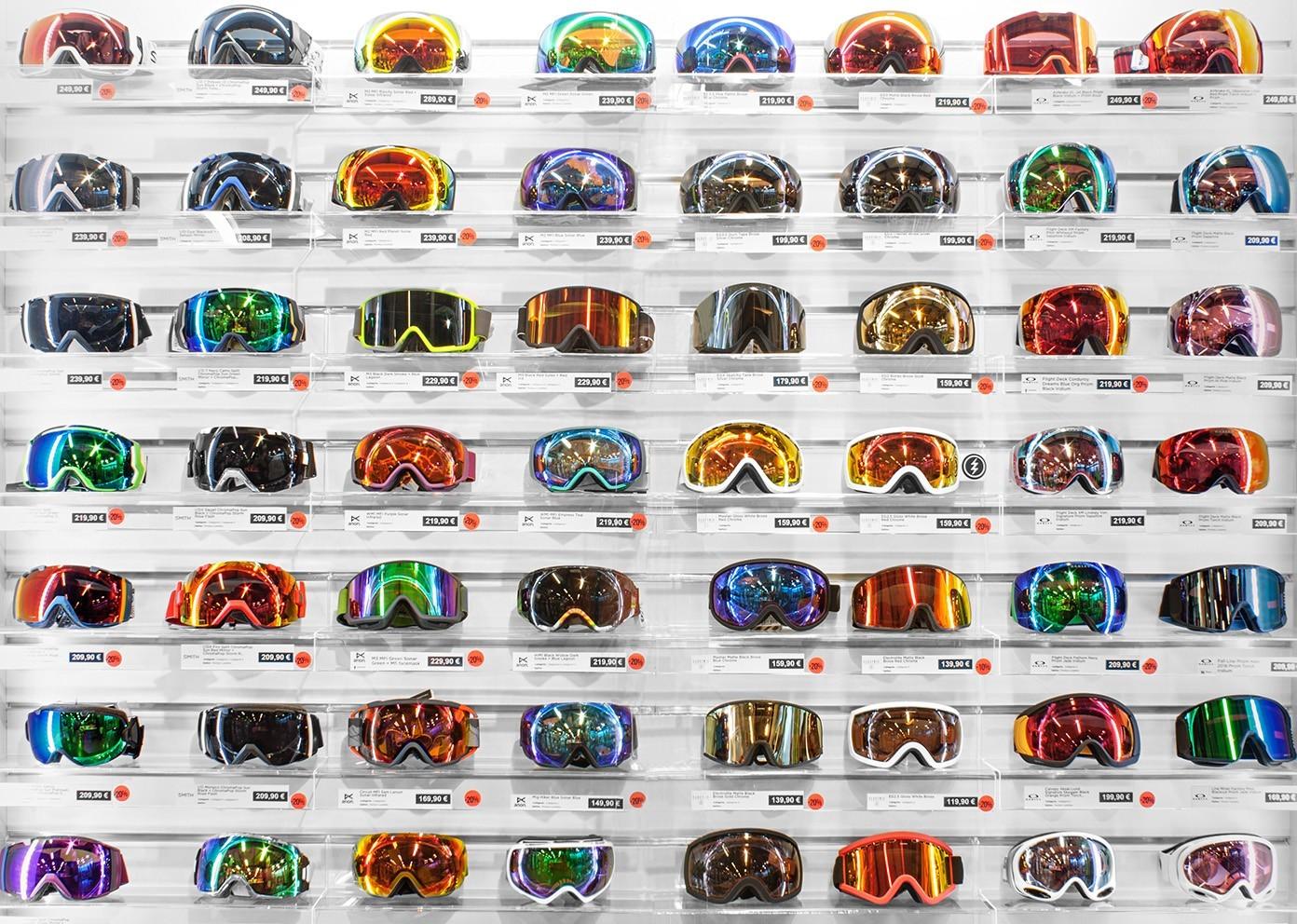 vitrine masque de ski Glisshop